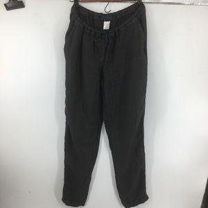 CP Shades Black Hampton Linen Pants NWOT